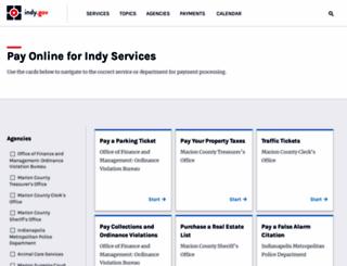 biz.indygov.org screenshot