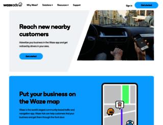 biz.waze.co.il screenshot