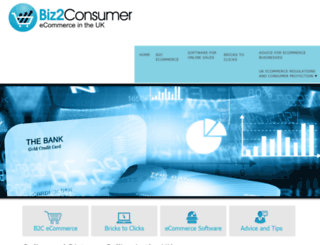 biz2consumer.com screenshot