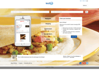 biz2go.com screenshot
