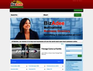 bizadee.com screenshot