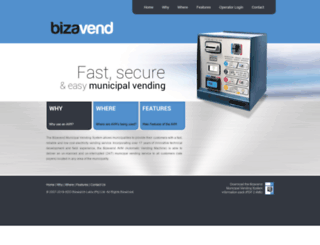 bizavend.co.za screenshot