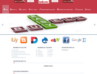 bizbecho.com screenshot