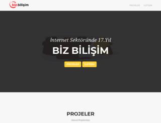 bizbilisim.com.tr screenshot