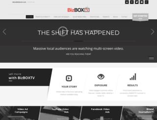 bizboxtv.com screenshot