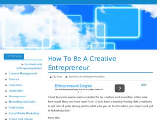 bizcityarea.com screenshot