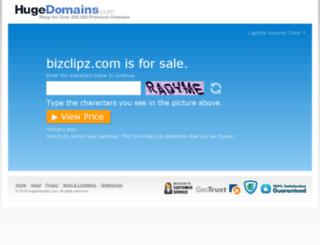 bizclipz.com screenshot