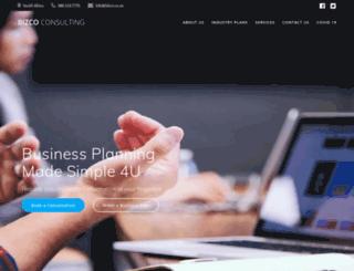 bizco.co.za screenshot