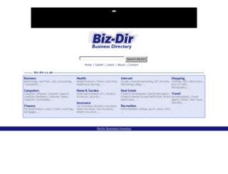 bizdirbusinessdirectory.co.uk screenshot