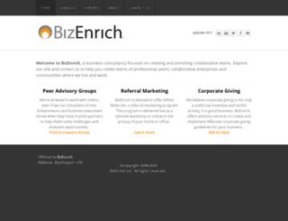 bizenrich.com screenshot