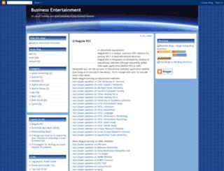 bizentertainment.blogspot.com screenshot