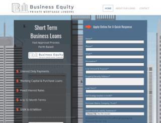 bizequity.com.au screenshot
