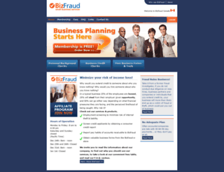 bizfraud.com screenshot