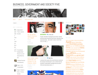 bizgovsocfive.wordpress.com screenshot