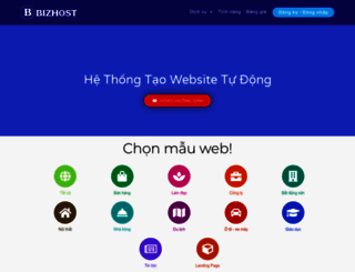 bizhostvn.com screenshot