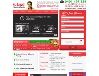 bizibrush.com.au screenshot