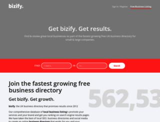 bizify.co.uk screenshot