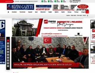 bizimgazete.com.tr screenshot