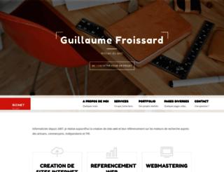 bizinet.fr screenshot