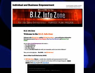 bizinfozone.com screenshot