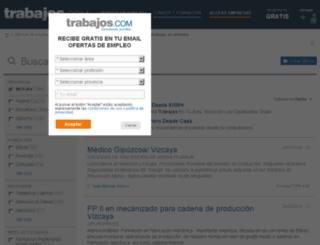 bizkaia.trabajos.com screenshot