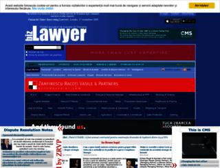 bizlawyer.ro screenshot