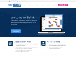 bizlinkms.com screenshot
