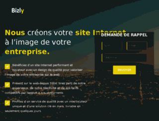 bizly.fr screenshot