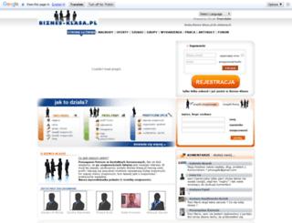 biznes-klasa.pl screenshot