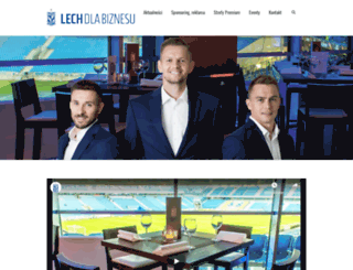 biznes.lechpoznan.pl screenshot