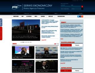 biznes.pap.pl screenshot