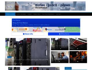 biznesfeed.pl screenshot