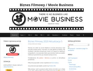 biznesfilmowy.tomiga.net screenshot