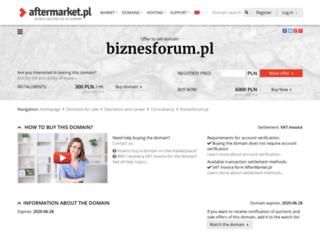 biznesforum.pl screenshot