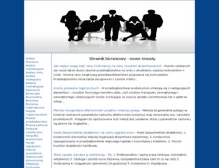 biznesowe.edu.pl screenshot