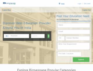 biznespage.com screenshot