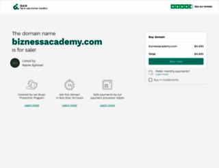 biznessacademy.com screenshot