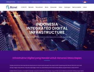 biznetnetworks.com screenshot