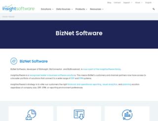 biznetsoftware.com screenshot