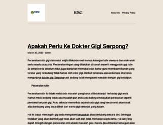 biznz.org screenshot