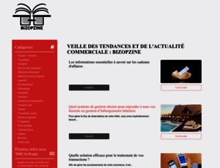 bizopzine.com screenshot