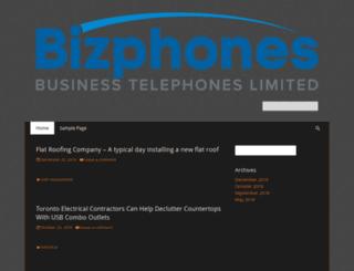 bizphones.ca screenshot