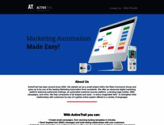 bizportal.activetrail.biz screenshot