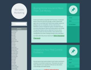 bizsalesmarketing.com screenshot