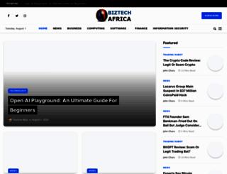 biztechafrica.com screenshot