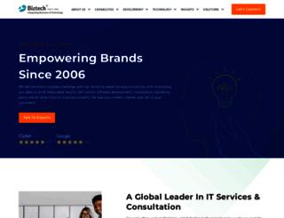 biztechconsultancy.com screenshot