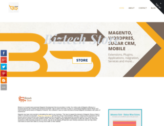 biztechstore.weebly.com screenshot