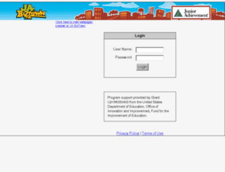 biztown.ja.org screenshot