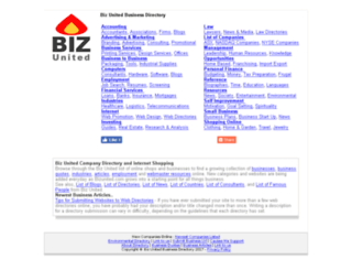 bizunited.com screenshot