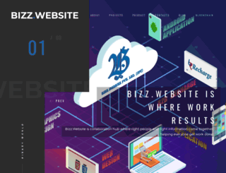 bizz.website screenshot